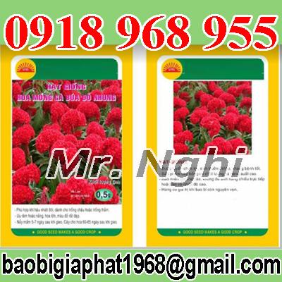 In túi giấy ghép màng nhôm hạt giống| congtyinbaobigiay.com