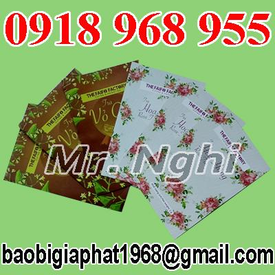 In túi giấy ghép màng nhôm đựng trà| congtyinbaobigiay.com