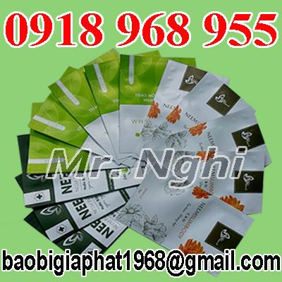 In túi giấy ghép màng nhôm đựng bột| congtyinbaobigiay.com