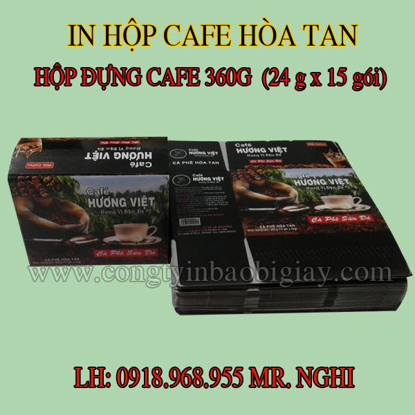 in hop giay dung cafe, in hop giay cafe  congtyinbaobigiay.com
