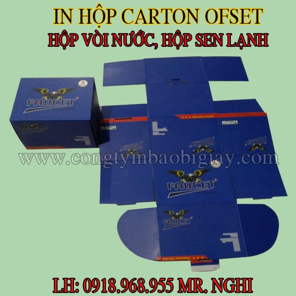 in hop giay dung cu sen lanh, in hop giay lavabo| congtyinbaobigiay.com